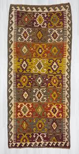 Colorful Kilim Rug Vintage Colorful Kilims