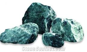 verde alpi marble ornamental rock green marble garden rocks from