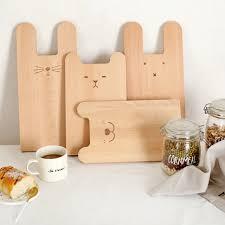 planche pour cuisine guuuuo ours en bois cuisine billot noyer bois planche à découper