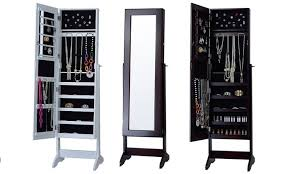 Jewelry Armoire Pier One Awesome Stand Up Mirror Jewelry Armoire 57 On Home Decorating