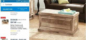 better homes and gardens coffee table crossmill collection coffee table kojesledeci com