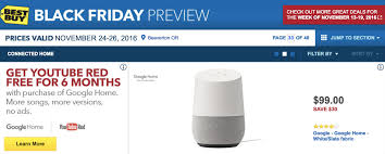 black friday deals 2016 best buy best buy will sell google home for 99 on black friday droid life