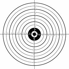printable shooting targets pdf target templates tire driveeasy co