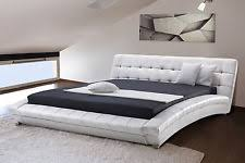 faux leather bed frames and divan bases ebay
