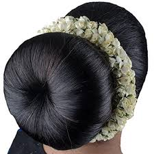 south indian bridal hair accessories online buy baal baal south indian bridal hair gajra veni hair accessory