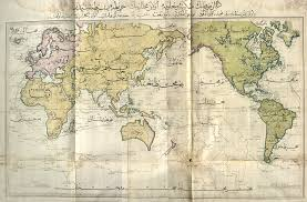 Java World Map by Ottoman World Map 1803 5462 X 3599 Mapporn