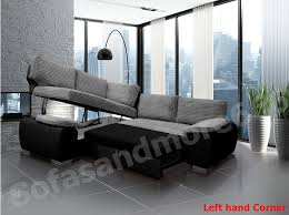 Leather Sofa Beds Uk Sale Brand New Enzo Corner Sofa Bed With Storage Jumbo Cord