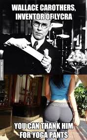 Thank You Meme Funny - wallace carothers inventor of lycra meme