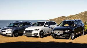 compare acura mdx lexus gx rivals acura mdx vs audi q7 vs volvo xc90 roadshow