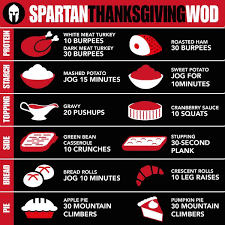 spartan race on take on the turkey day calorie count