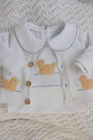 Pima Cotton Baby Clothes Duck Crochet Playsuit U2013 Little English