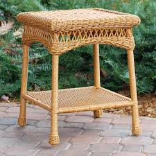 Wicker Accent Table Side Table Small Wicker Side Table Size Of Coffee Clear