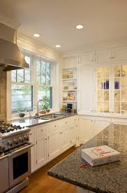 los angeles tropical brown granite kitchen contemporary with