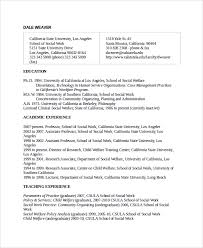 sample social worker resume template 9 free documents download