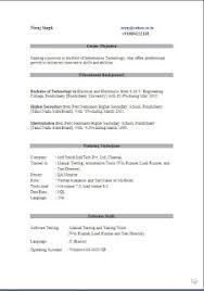 Manual Testing Sample Resumes by Resume Writing Skills Sample Template Example Ofbeautiful