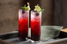 mojito cocktail blackberry mojito