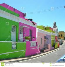 painted houses colourful painted houses in bo kaap cape town south africa