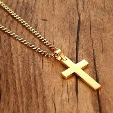 vintage cross necklace images Fashion vintage cross pendant necklace stainless steel necklace jpg