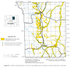 Wy Map Pesticides In Ground Water Big Horn County Wyoming 1999 2000