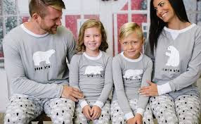 sleepyheads polar family matching pajama set