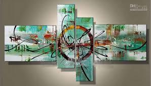 decorative artwork for homes 2018 hand painted hi q modern wall art home decorative abstract oil