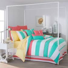 Striped Comforter Buy Green Striped Comforter From Bed Bath U0026 Beyond