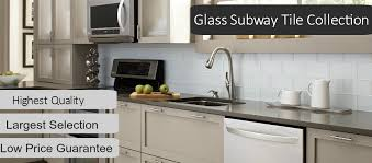 Kitchen Backsplash Glass Subway Tile Glass Accent Tile Discount - Kitchen backsplash subway tile