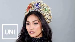 pageant hair that wins the most filipino wins first ever miss nature intercontinental beauty