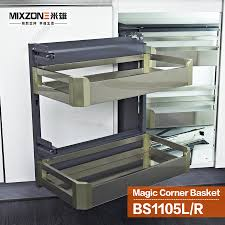 basket moses picture more detailed picture about eco friendly eco friendly stainless steel kitchen cabinet magic corner sliding basket pantry dish storage pull out