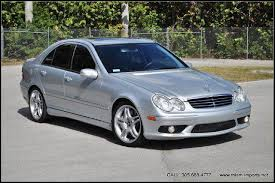 2006 mercedes c55 amg 2006 mercedes c class c55 amg 4dr sedan in miami fl miami