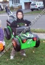 coolest homemade grave digger monster truck halloween costume
