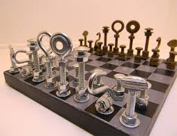 cool chess set hardware chess set the awesomer