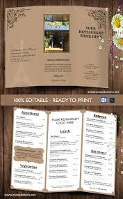 wedding bar menu template design templates tri fold take out menu menu templates wedding