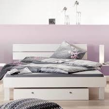 Schlafzimmer Bett Regal Schlafzimmerbett Elsa In Weiß Pharao24 De