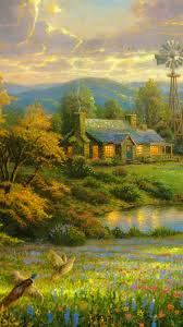 country home wallpapers group 74