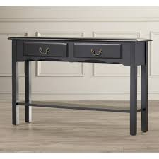 black console table with storage furniture console tables traditional style black sofa table with