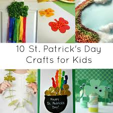 activities for kids 10 st patrick day crafts crystalandcomp com