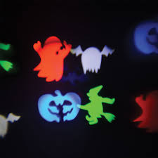 qtx lawnled 4 halloween projector spooky outdoor house garden wall