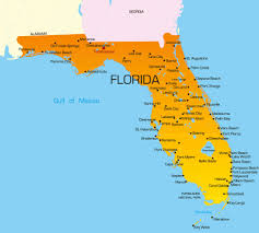 Map Of Kissimmee Map Of Florida