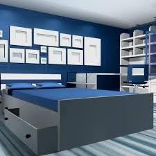 Download Bedroom Design Blue White D Model Available In Max Ma - Model bedroom design