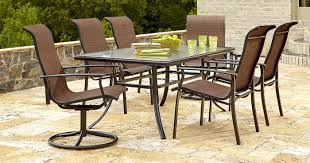 patio furniture 7 dining set kmart 40 patio furniture 7 dining set only