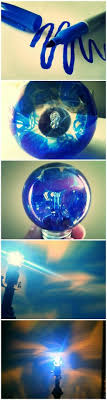 draw on a clear lightbulb with any color sharpie and make cool