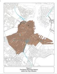 City Of Boston Map by Lrtp Chapter3