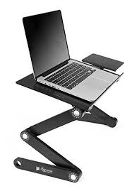 Computer Desk Stand Executive Office Solutions Portable Adjustable Aluminum Laptop