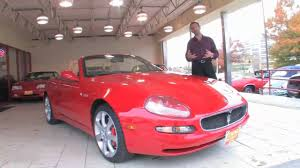 maserati 2004 2004 maserati spyder cambio corsa for sale with test drive