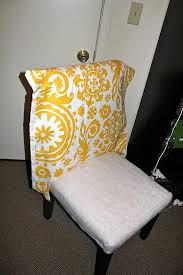 Cheap Parson Chairs One Joyful Housewife Reupholstering Our Parsons Chairs Part Two