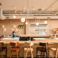 this sushi bar u0027s color scheme is white rice black nori paper and