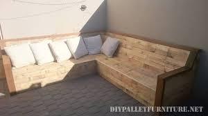 canapé d angle en palette canapé d angle avec palettes planchesmeuble en palette meuble en