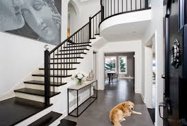 Painting A Banister Black Black Stair Railing Houzz