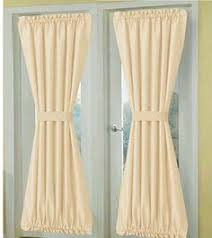 french door curtains made from a 19 00 target shower curtain that